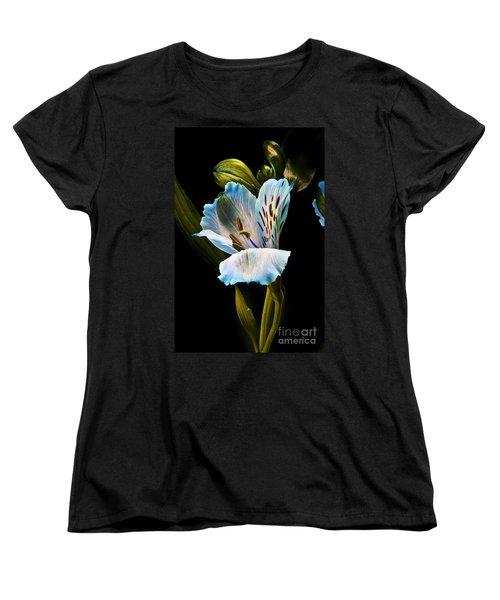 Flower Women's T-Shirt (Standard Cut) by Gunnar Orn Arnason