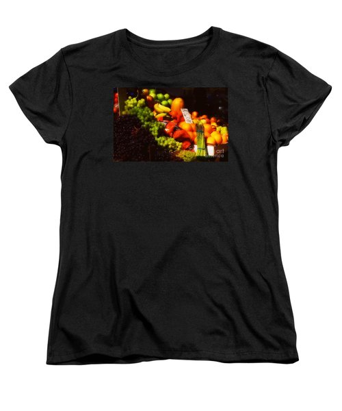 Women's T-Shirt (Standard Cut) featuring the photograph 3 For 2 Dollars by Miriam Danar