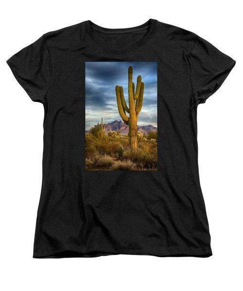 Standing Tall  Women's T-Shirt (Standard Cut) by Saija  Lehtonen