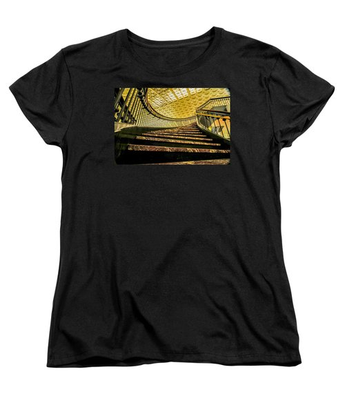 Union Station Washington Dc Women's T-Shirt (Standard Cut) by Alex Grichenko