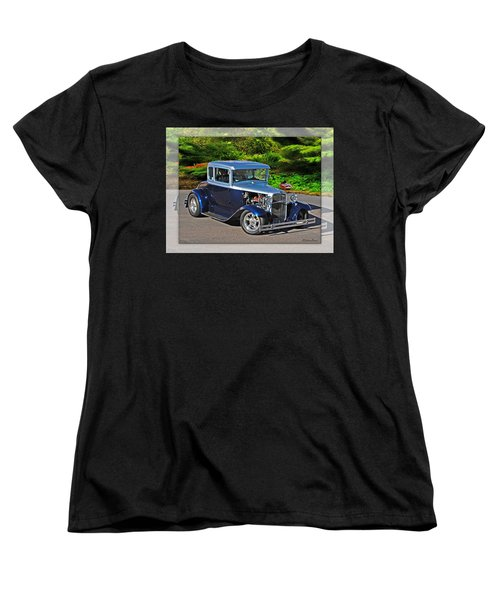 32 Ford Women's T-Shirt (Standard Cut) by Walter Herrit