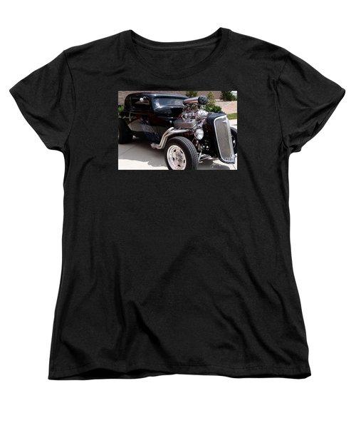 34 Custom Chevy Women's T-Shirt (Standard Cut) by Chris Thomas