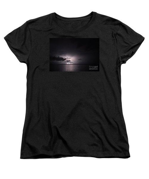 4 Bolts From Above Women's T-Shirt (Standard Cut) by Quinn Sedam