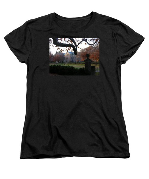 Women's T-Shirt (Standard Cut) featuring the photograph College Of William And Mary by Jacqueline M Lewis