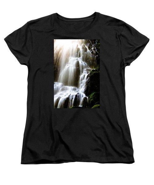 Fairy Falls Women's T-Shirt (Standard Cut) by Patricia Babbitt