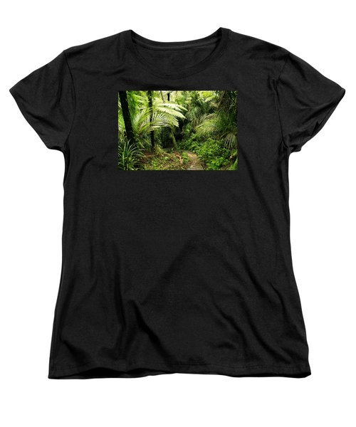 Forest Women's T-Shirt (Standard Cut) by Les Cunliffe