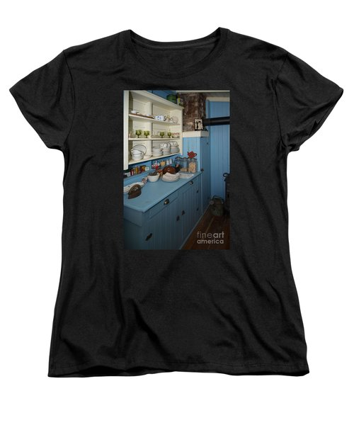 Heritage Cottage Museum On Bowen Island Women's T-Shirt (Standard Cut) by Carol Ailles
