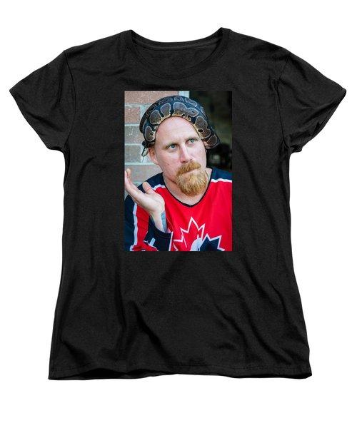 Teammates Women's T-Shirt (Standard Cut) by Steve Harrington