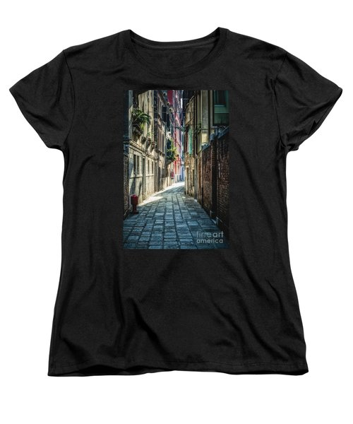 Venice Women's T-Shirt (Standard Cut) by Traven Milovich