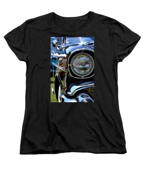 Women's T-Shirt (Standard Cut) featuring the photograph 50's Chevy by Dean Ferreira