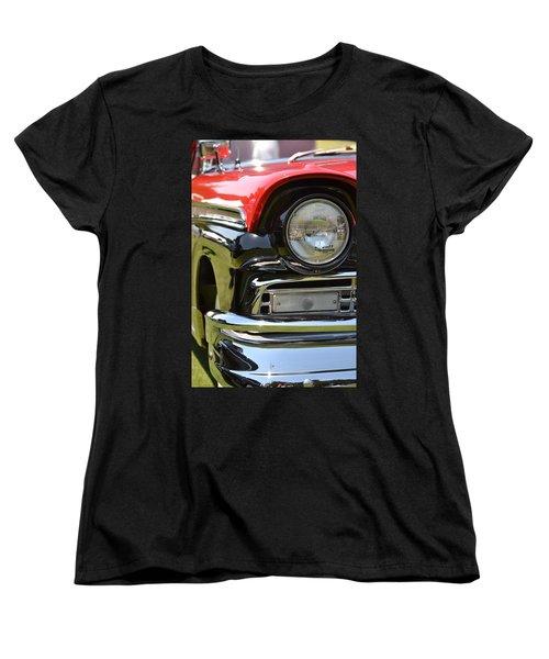 Women's T-Shirt (Standard Cut) featuring the photograph 50's Ford by Dean Ferreira