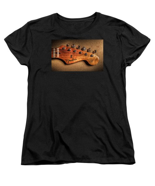Women's T-Shirt (Standard Cut) featuring the photograph '57 Stratocaster by Ray Congrove