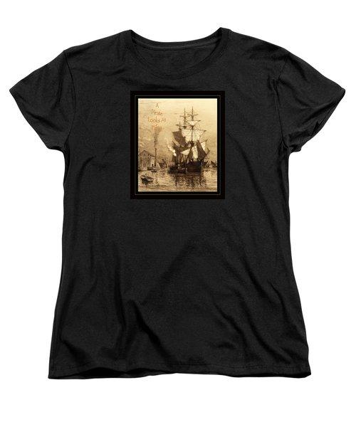 A Pirate Looks At Fifty Women's T-Shirt (Standard Cut)