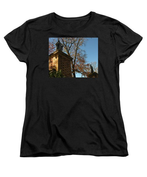 Women's T-Shirt (Standard Cut) featuring the photograph William And Mary College by Jacqueline M Lewis