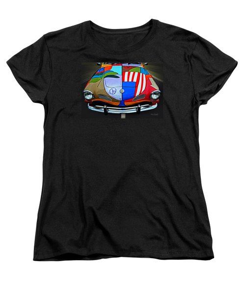 60s Wild Ride Women's T-Shirt (Standard Cut) by Mary Machare