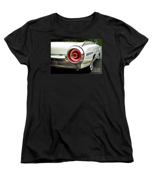 62 Thunderbird Tail Light Women's T-Shirt (Standard Cut) by Jerry Fornarotto