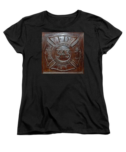 9 11 01 F D N Y 343 Women's T-Shirt (Standard Cut) by Rob Hans