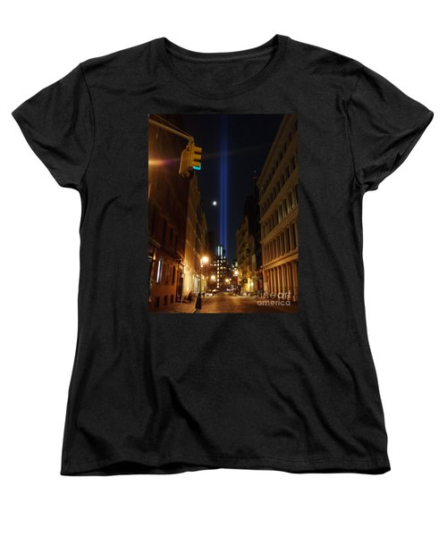 9-11-2013 Nyc Women's T-Shirt (Standard Cut) by Jean luc Comperat