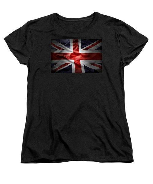 Union Jack  Women's T-Shirt (Standard Cut) by Les Cunliffe