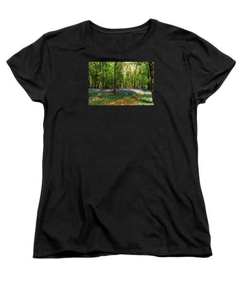 Women's T-Shirt (Standard Cut) featuring the photograph A Carpet Of Colour by Wendy Wilton
