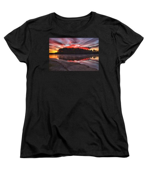 A Christmas Eve Sunrise Women's T-Shirt (Standard Cut)