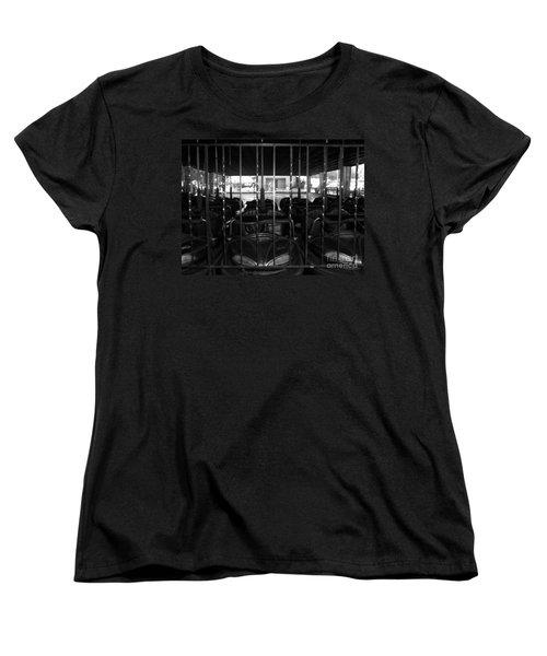 Women's T-Shirt (Standard Cut) featuring the photograph A Classic Car by Michael Krek