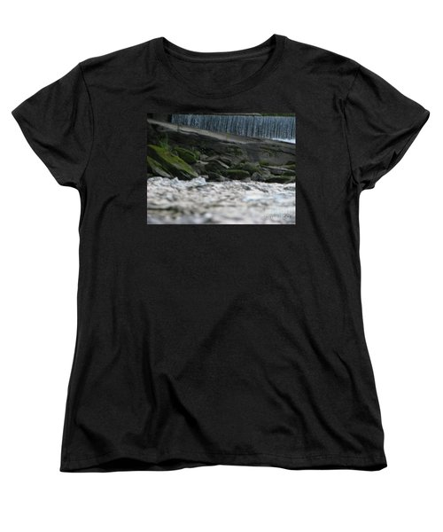 Women's T-Shirt (Standard Cut) featuring the photograph A Day At The River by Michael Krek