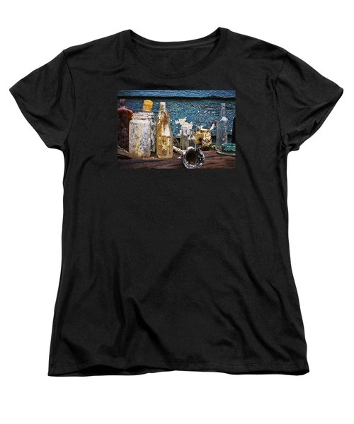Women's T-Shirt (Standard Cut) featuring the photograph Treasures Of A Scuba Diver by Peggy Collins