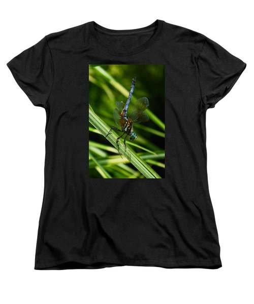Women's T-Shirt (Standard Cut) featuring the photograph A Dragonfly by Raymond Salani III