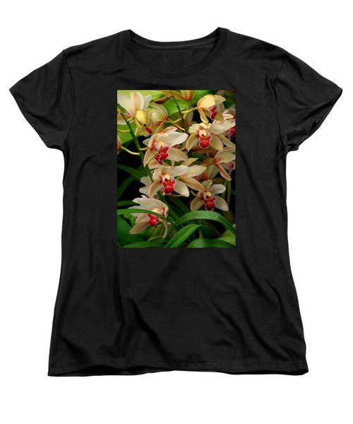 Women's T-Shirt (Standard Cut) featuring the photograph A Gathering by Rodney Lee Williams