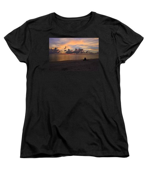 A Gentle Love Women's T-Shirt (Standard Cut) by Melanie Moraga