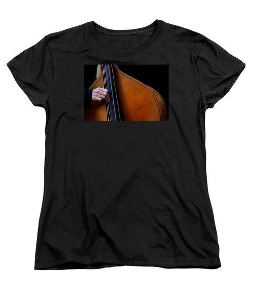 A Hand Of Jazz Women's T-Shirt (Standard Cut) by KG Thienemann
