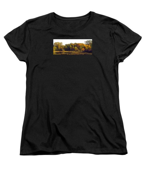 Women's T-Shirt (Standard Cut) featuring the photograph A Harvest Of Color by I'ina Van Lawick