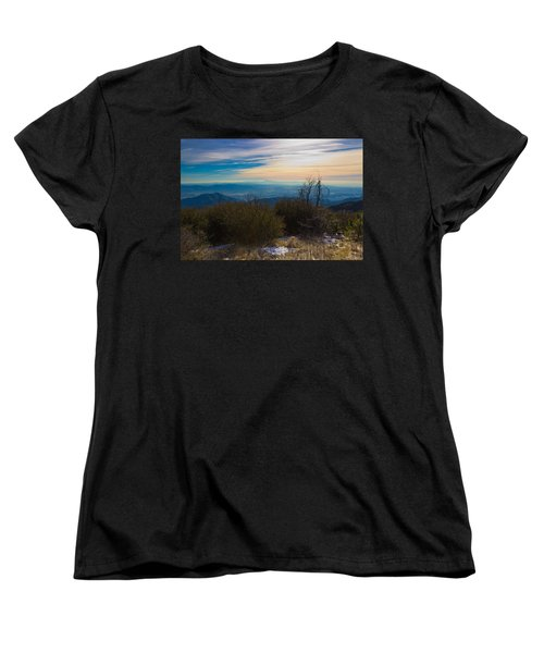 Women's T-Shirt (Standard Cut) featuring the photograph A Late Winter's Afternoon by Heidi Smith