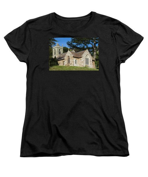 Women's T-Shirt (Standard Cut) featuring the photograph A Little Church In Warwickshire by Linsey Williams