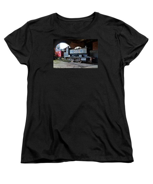 A Locomotive At The Colliery Women's T-Shirt (Standard Cut) by RicardMN Photography