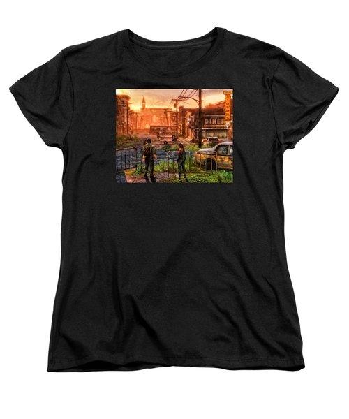 A Long Journey Women's T-Shirt (Standard Cut) by Joe Misrasi