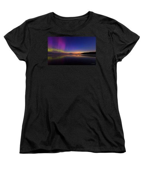 A Majestic Sky Women's T-Shirt (Standard Cut) by Everet Regal