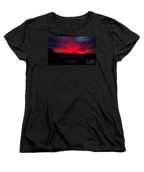 A New Day Women's T-Shirt (Standard Cut) by Robert ONeil