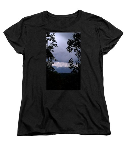 Women's T-Shirt (Standard Cut) featuring the photograph A Peek At Heaven by Fortunate Findings Shirley Dickerson