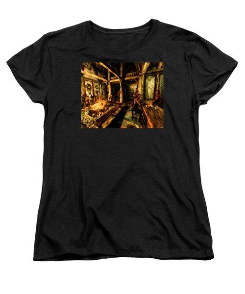 A Place To Relax Women's T-Shirt (Standard Cut) by Joe Misrasi