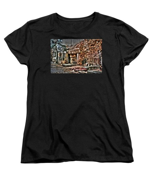 Women's T-Shirt (Standard Cut) featuring the photograph A Quiet Place To Pray by Doc Braham