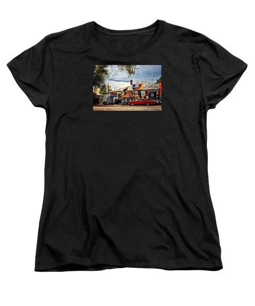 A Ride On Route 66 Women's T-Shirt (Standard Cut) by Tricia Marchlik