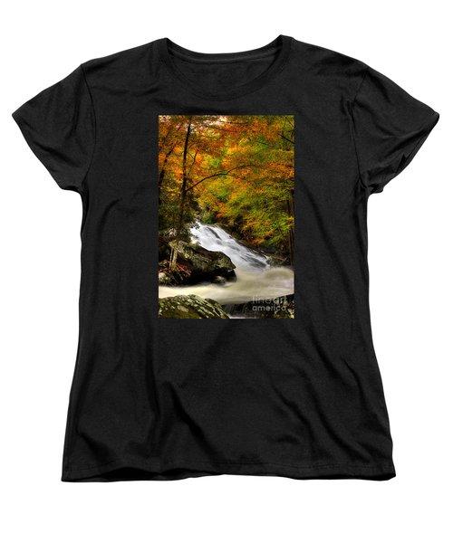 A River Runs Through It Women's T-Shirt (Standard Cut) by Michael Eingle