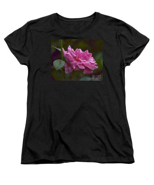 Women's T-Shirt (Standard Cut) featuring the photograph A Rose Is A Rose by Carol  Bradley