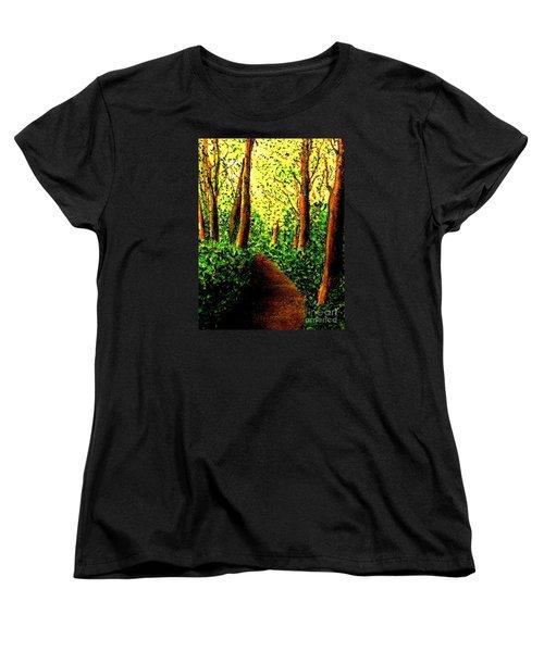 A Spiritual Awakening Women's T-Shirt (Standard Cut) by Hazel Holland