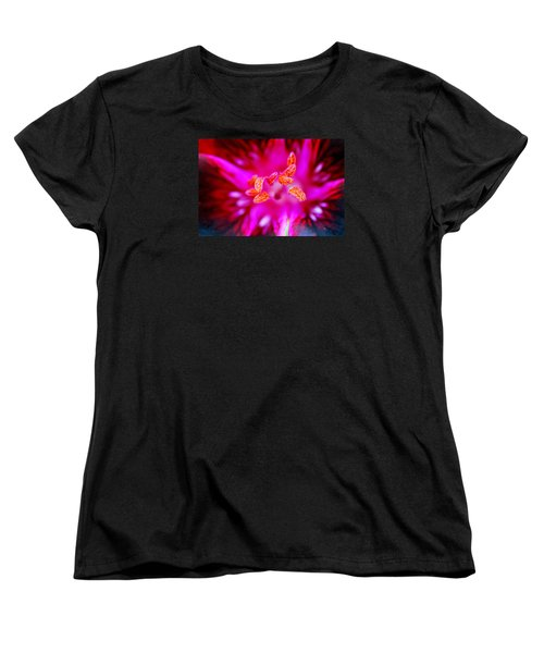Women's T-Shirt (Standard Cut) featuring the photograph A Splash Of Colour by Wendy Wilton