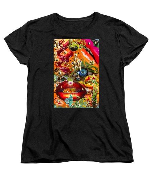 A Taste Of Healing Women's T-Shirt (Standard Cut) by Deprise Brescia