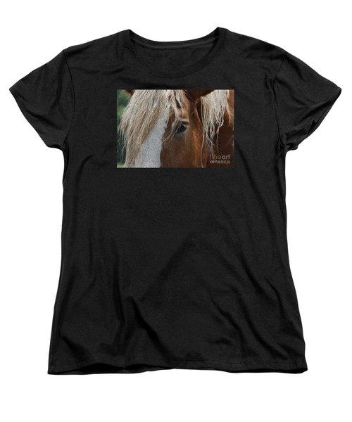 A Trusted Friend Women's T-Shirt (Standard Cut) by Yvonne Wright