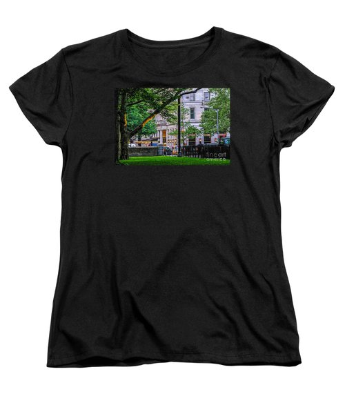 A View From Central Park Women's T-Shirt (Standard Cut) by Mary Carol Story